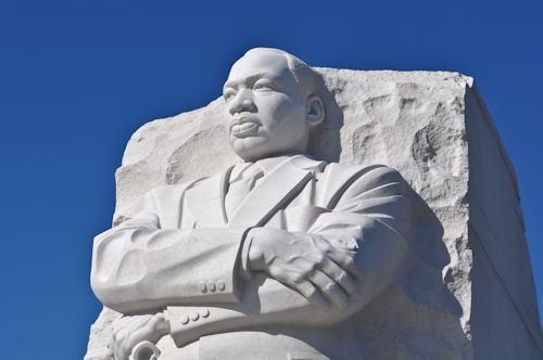 Martin Luther King Jr. statue in Washington, D.C.